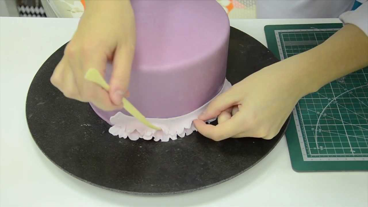 Украшение торта мастикой в домашних условиях мастер класс фото